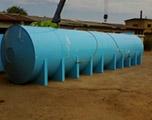 Накопительная бочка 80 м3 для питьевой воды