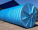 Противопожарный подземный резервуар на 100 кубов производство AlePlast